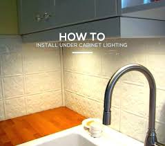 under cabinet lighting wiring. Installing Under Cabinet Lighting Youtube . Wiring