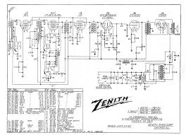 zenith radio schematics radio schematics diagrams for rca bx-8l at Radio Schematic Diagrams