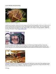 Alat musik tradisional daerah jambi selanjutnya adalah sekdu, sekilas bentuknya hampir mirip atau bahkan menyerupai suling, salah satu musik khas sunda. Alat Musik Gambang Berasal Dari Daerah Mana Berbagai Alat