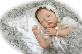 aliexpress.com - 55cm Realistic Reborn Baby Dolls Newborn Sleeping ...