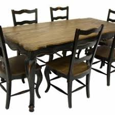 Buy French Country Rustic Dining Table U0026 6 Chairs Black Dinner Table In Chelmsford United Kingdom U2014 From ChiChi Furniture Company Catalog Allbiz