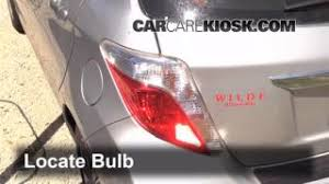 replace a fuse 2012 2016 toyota yaris 2012 toyota yaris l 1 5l tail light change 2012 2016 toyota yaris