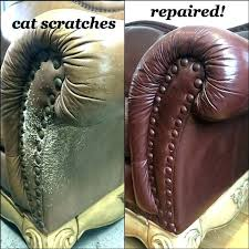cat scratches on leather fix scratches on leather couch cat scratch chair cats scratched how to cat scratches on leather how to repair