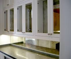 Mirror Backsplash In Kitchen Custom Framed Mirrors