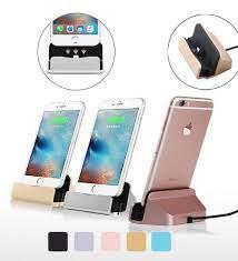 Masaüstü Şarj Aleti Stand Dock İphone 5 5s 6 6s 7 8 X Se Plus