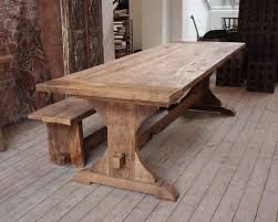 Large Farmhouse Kitchen Table Natural Wood Kitchen Table Winda 7 Furniture