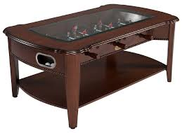 The Maxwell 2 in 1 Game Table: Foosball & Coffee Table in Antique Walnut by  Berner Billiards FREE SHIPPING