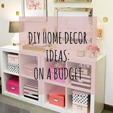 Diy Home Decor Projects On A Budget Set New Design