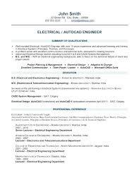 Electrical Engineer Resume Objective Biomedical Engineering Skills ...