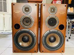 Loa Onkyo D-77MRX bass 30cm thùng loa gỗ Lạng rất nặng.   Loa Hi-Fi -  Audiophiles