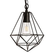 exterior suspended light led 1 light 120 v black