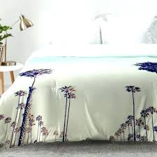 palm tree comforter leaf east urban home trees set rose comforters black and white bedding bedroom
