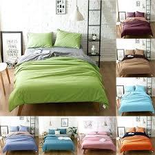plain dye duvet covers uk 3 pure cotton light purple grey assorted bedding sets s