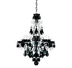 wrought iron mini chandelier black wrought iron
