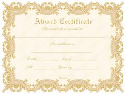 Templates For Certificates Delicate Award Certificate Template For Word