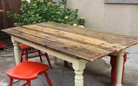 how to make a rustic dining table top farm table to plank diy on farmhouse kitchen