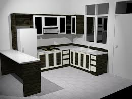 Kitchen:Modern Kitchen With European Designs Include Kitchen Cabinet Table  And Then With Gas Stove