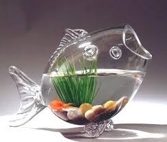 bowls large glass fish bowl shaped vase 1 2 inch