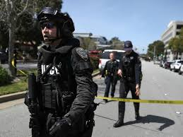 office youtube. SAN BRUNO, CA: Law Enforcement Stands Watch Outside Of The YouTube  Headquarters On April 3, 2018 In San Bruno, California. Police Are Investigating An Office Youtube