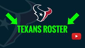 2019 Houston Texans Roster