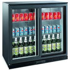 sliding door refrigerator sliding door back bar fridge true glass door refrigerator