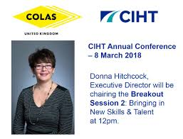 "Colas Ltd on Twitter: ""@ColasLtd are speaking at the CIHT Annual ..."