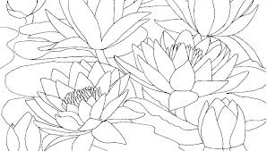 Simple Flower Coloring Pages Simple Flowers Coloring Pages Pictures