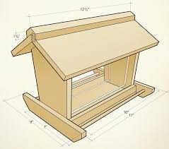 more images of wood bird feeder plans
