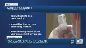 Wednesday, march vaccination sites administering the pfizer vaccine, including those run by the state, will be able to vaccinate arizonans age 16 and older. How To Sign Up For The Phase 1b Group Of Covid 19 Vaccine In Maricopa County