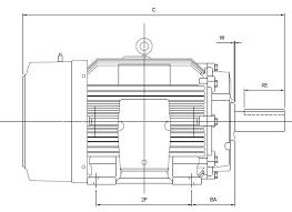 Understanding Three Phase Ac Motors Part 3 Nema Frame Sizes