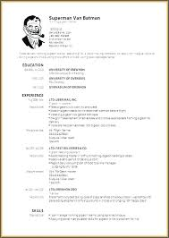 Resume Templates For Word 2003 Word 2003 Resume Template Cv Template