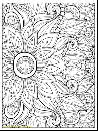 Easily Free Flower Coloring Pages Printable With Adult