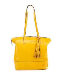 patricia nash leather brights collection rochelle tassel satchel dillard s