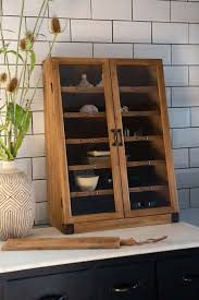 wooden antique style library cabinet