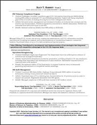 Sample Resume Investment Banking 5 Example Page 2