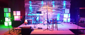 Church Stage Design Ideas Stacks On A Deck