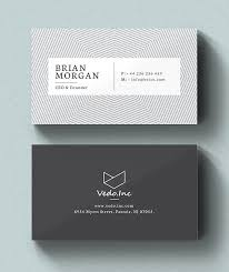 business card templates 30 minimalistic business card designs psd templates design