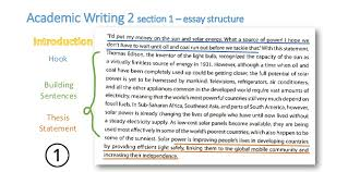academic writing essay structure pages  7 academic writing 2 section 1 essay structure hook