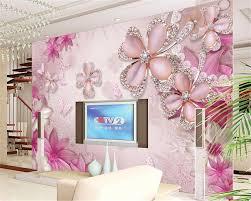 Beibehang Geschikt Voor Indoor 3d Behang Luxe Gouden Sieraden