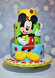 Mickey Mouse Birthday Cake Cakecentralcom