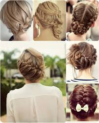 braided updo for date night with long human hair extension