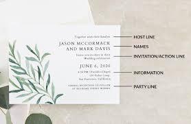 Sample Of Wedding Invatation Wedding Invitation Wording Formal Modern Fun A Practical Wedding
