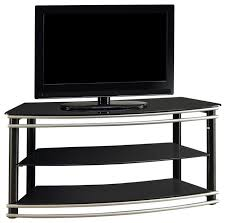 coaster contemporary black metal tv console contemporary entertainment centers and tv stands by coaster fine furniture