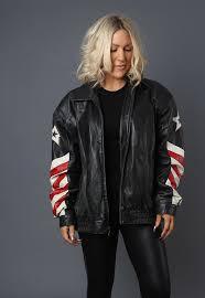 leather er boyfriend jacket