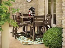 furniture for small patio. Counter Height Patio Furniture With Teak And Rectangular Carpet: Full Size For Small T