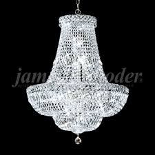 james moder 93091s22 crystal prestige twenty two light chandelier