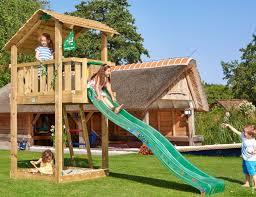 climbing frame and slide jungle shelter