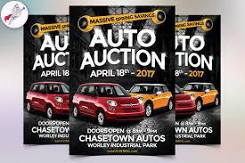 Car Flyers Auto Sales Flyer Flyer Templates Creative Market 3