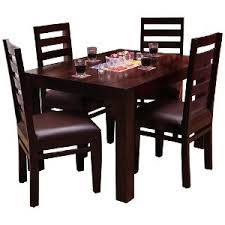 wooden dining table.  Table Induscraft Sheesam Wood Dining Table Set  Brown  Sets  HomeShop18 Inside Wooden T