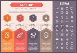 Startup Timeline Template Startup Infographic Timeline Template Stock Vector